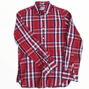 J.Crew Button Down Shirt Size Small Red Plaid